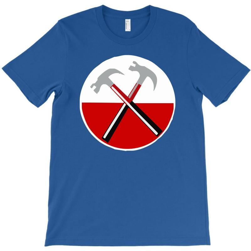 0a5ba6dc Custom Pink Floyd The Wall Hammers T-shirt By Cuser388 - Artistshot