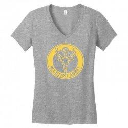 buckfast abbey devon tonic wine 'bucky' Women's V-Neck T-Shirt | Artistshot