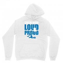 swim mom loud and proud sports athlete athletic Unisex Hoodie | Artistshot