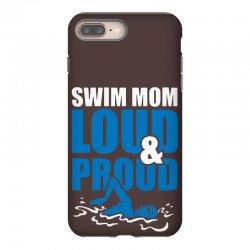swim mom loud and proud sports athlete athletic iPhone 8 Plus Case | Artistshot