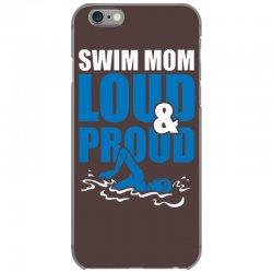 swim mom loud and proud sports athlete athletic iPhone 6/6s Case | Artistshot