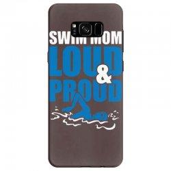 swim mom loud and proud sports athlete athletic Samsung Galaxy S8 Case | Artistshot