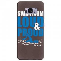 swim mom loud and proud sports athlete athletic Samsung Galaxy S8 Plus Case | Artistshot