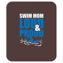 swim mom loud and proud sports athlete athletic Mousepad | Artistshot