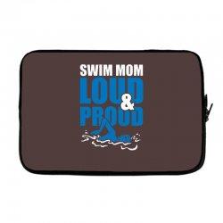 swim mom loud and proud sports athlete athletic Laptop sleeve | Artistshot