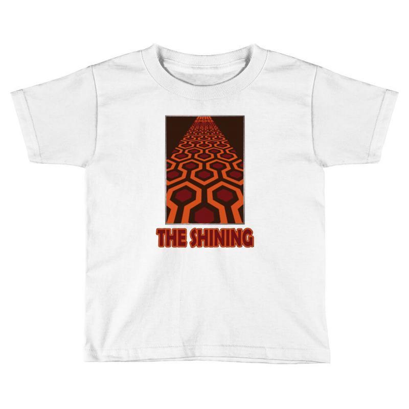 Custom The Shining Carpet Overlook Hotel Toddler T Shirt