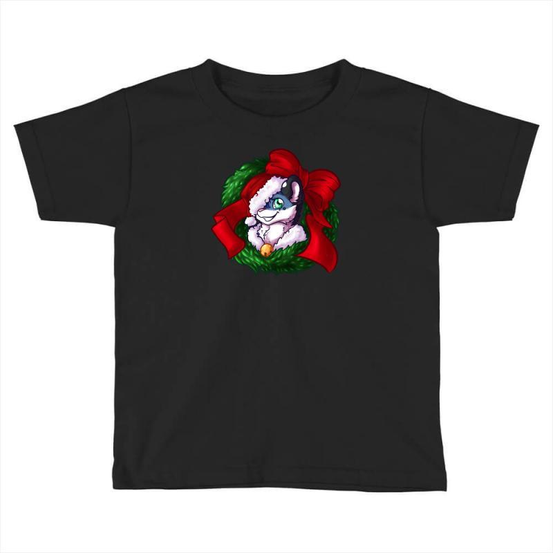 Christmas Wreath Bluebie Bust By Bluekazenate Toddler T-shirt | Artistshot