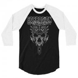 corrosion of conformity (new album logo) 3/4 Sleeve Shirt | Artistshot
