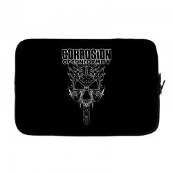 corrosion of conformity (new album logo) Laptop sleeve | Artistshot