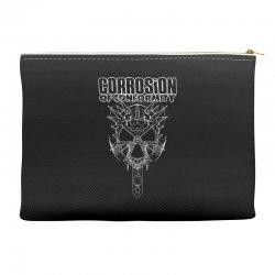 corrosion of conformity (new album logo) Accessory Pouches | Artistshot