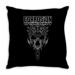 corrosion of conformity (new album logo) Throw Pillow | Artistshot