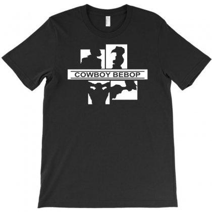 Cowboy Bebop Spike Ed Jet Faye Edward Ein Anime T-shirt Designed By Mdk Art