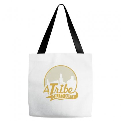 A Tribe Called Quest City Skyline Atcq Tote Bags Designed By Mdk Art