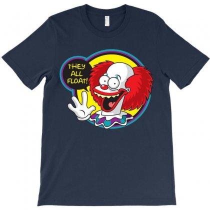 Krusty The Killer Clown T-shirt Designed By Alienbiker23