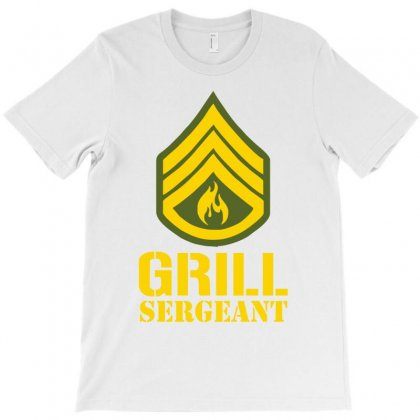 Grill Sergeant Military T-shirt Designed By Cuser388