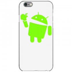 Android eating apple cover iphone 6