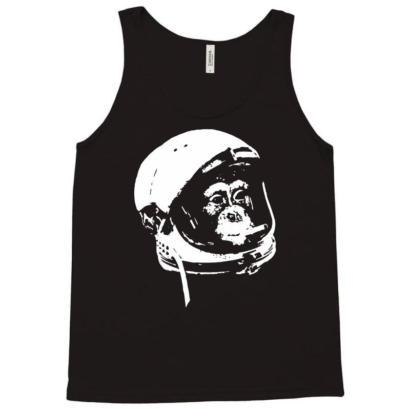 8d894ebfda7e89 Custom Astronaut Monkey Tank Top By Mdk Art - Artistshot