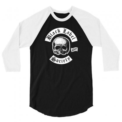 Black Label Society 3/4 Sleeve Shirt Designed By Mdk Art
