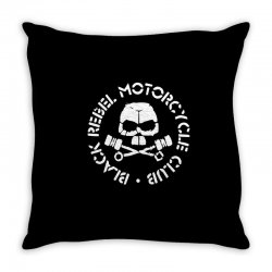 black rebel motorcycle club Throw Pillow | Artistshot