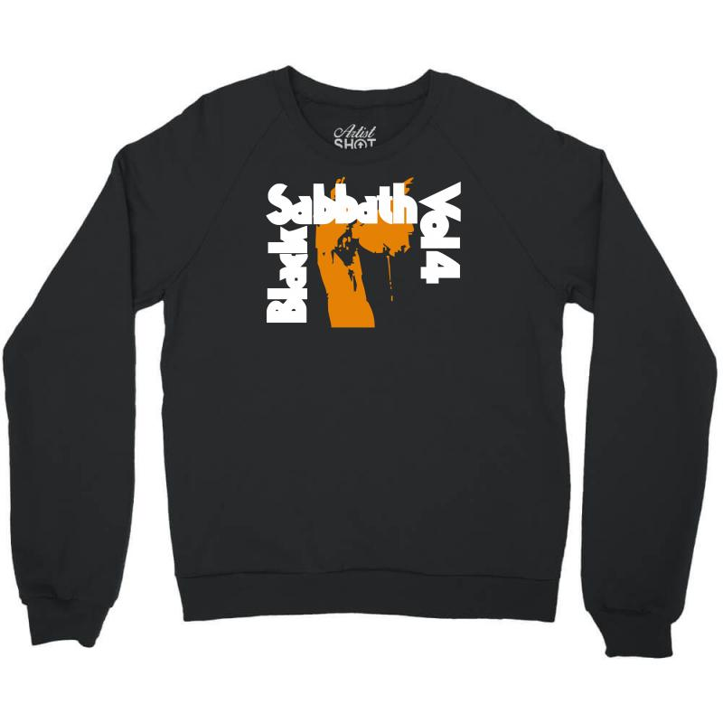 Black Sabbath Christmas Sweater.Black Sabbath Vol 4 Crewneck Sweatshirt By Artistshot
