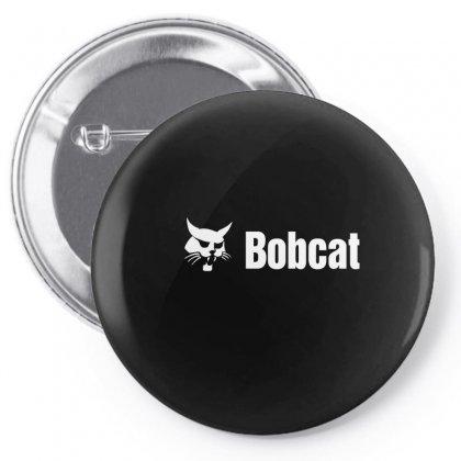 Bobcat Pin-back Button Designed By Mdk Art