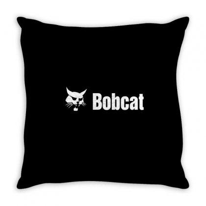 Bobcat Throw Pillow Designed By Mdk Art