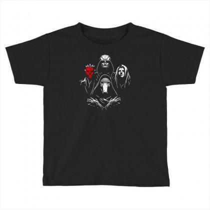 Bohemian Dark Side Toddler T-shirt Designed By Mdk Art