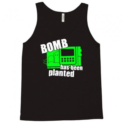 Bomb Has Been Planted Tank Top Designed By Mdk Art