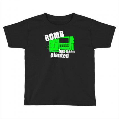 Bomb Has Been Planted Toddler T-shirt Designed By Mdk Art