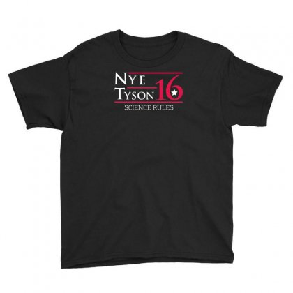 Nye Tyson '16 Science Rules Youth Tee Designed By Cuser388