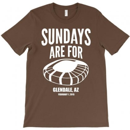 Sundays Are For Football Foot Ball T-shirt Designed By Cuser388