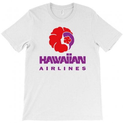 Stylish Retro Hawaiian Airlines T-shirt Designed By Cuser388