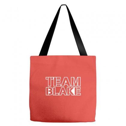 Team Blake Tote Bags Designed By Cuser388