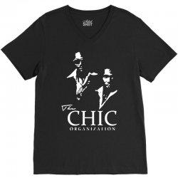 chic organization V-Neck Tee | Artistshot