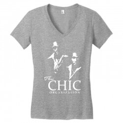 chic organization Women's V-Neck T-Shirt | Artistshot