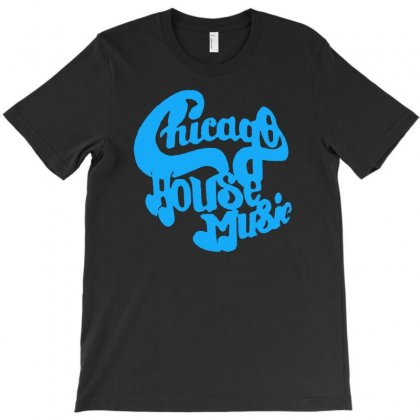 Chicago House Music T-shirt Designed By Mdk Art