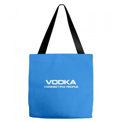Vodka, Connecting People Tote Bags Designed By Cuser388