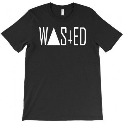 Wasted Tee T-shirt Designed By Cuser388