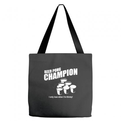 Beer Pong Champion Tote Bags Designed By Cuser388
