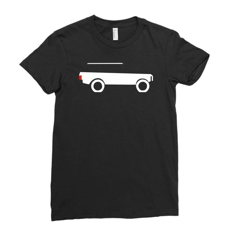 10-18 Ladies Aged to Perfection Land Rover Birthday Fitted T-Shirt S 2XL