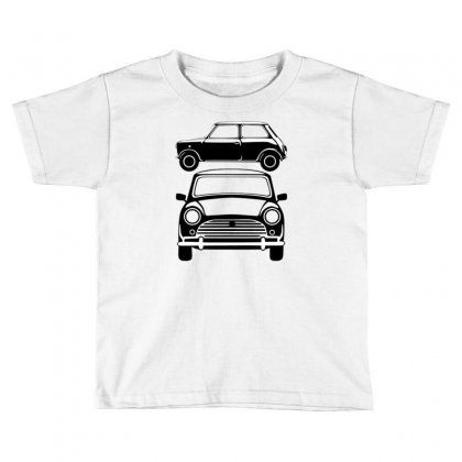 Classic Mini, Ideal Birthday Gift Or Birthday Present Toddler T-shirt Designed By Mdk Art