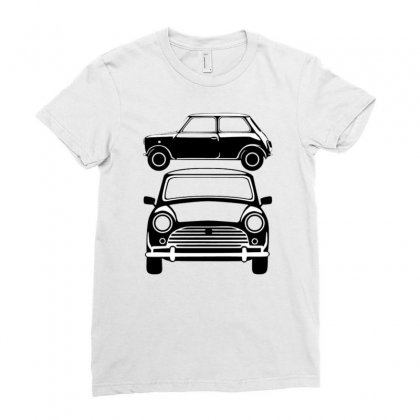 Classic Mini, Ideal Birthday Gift Or Birthday Present Ladies Fitted T-shirt Designed By Mdk Art