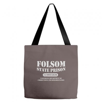 Folsom State Prison Tote Bags Designed By Cuser388