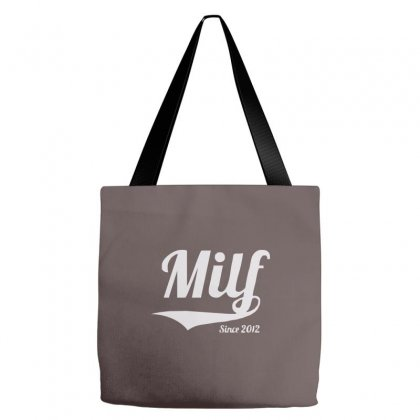 Milf Since 2012 Tote Bags Designed By Cuser388