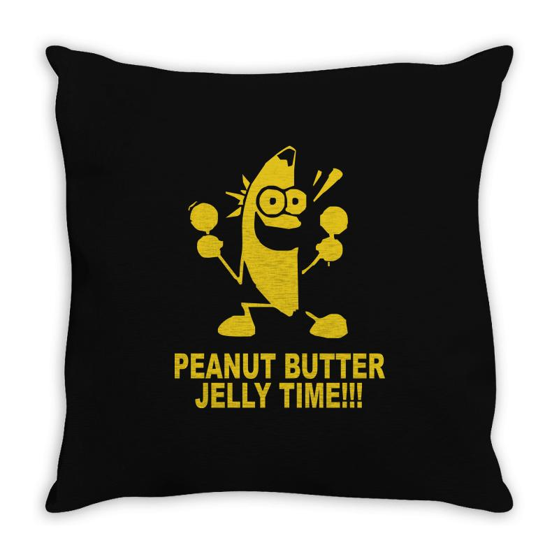 Jelly Time Banana Throw Pillow | Artistshot