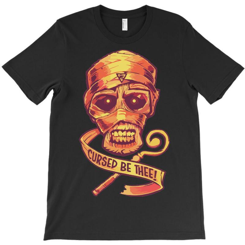 The Cursed Mummy T-shirt | Artistshot