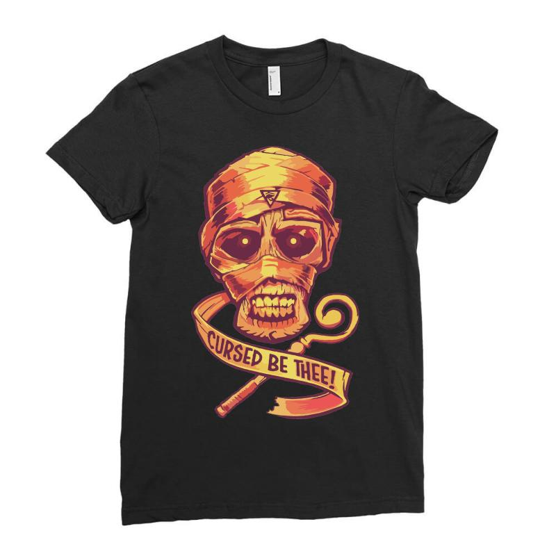 The Cursed Mummy Ladies Fitted T-shirt | Artistshot