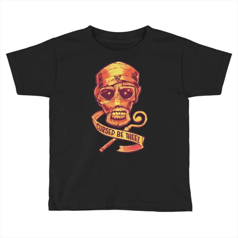 The Cursed Mummy Toddler T-shirt | Artistshot