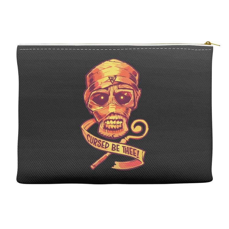 The Cursed Mummy Accessory Pouches | Artistshot