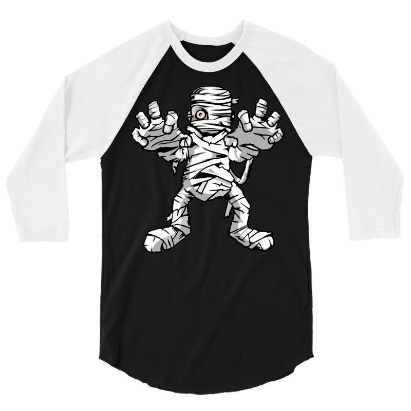 Really Scary Mummy 3/4 Sleeve Shirt | Artistshot